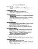 AP Biology Study Guides for CH's 6-11