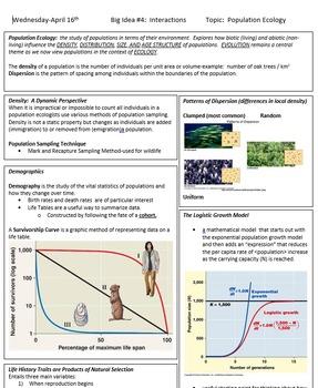 AP Biology Test 2 Week Classroom Prep Lessons