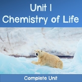 AP Biology Unit 1: Chemistry of Life COMPLETE UNIT -Distan