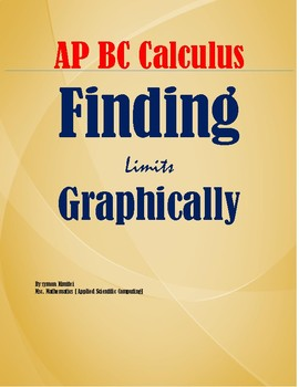 AP CALCULUS AB- FINDING LIMITS GRAPHICALLY