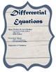 AP Calc AB Binder Dividers