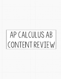AP Calc AB Content Review