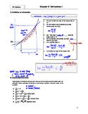 AP Calculus: 03 - Derivatives I - Teacher