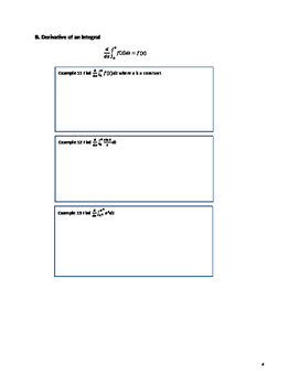 AP Calculus: 16 - Integrals
