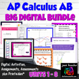 AP Calculus AB Bundle  Digital Activities and Assessments