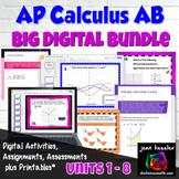 AP Calculus AB Big Digital Bundle Distance Learning