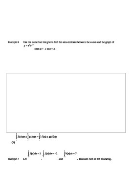 AP Calculus AB: Definite Integral Notes
