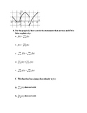 AP Calculus AB: Limits and Continuity Test Review