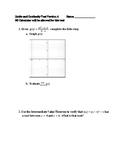 AP Calculus AB Limits and Continuity Unit Test
