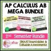 AP Calculus AB Mega Bundle (2nd Semester)