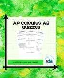 AP Calculus AB Quizzes