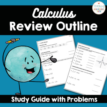 Calculus AP AB Review Study Guide with Problems