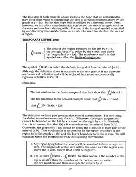 AP Calculus AB: Straight Forward Math Volume 2