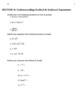 AP Calculus AB Summer Prep Work - Version 2