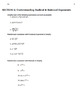 AP Calculus AB Summer Prep Work - Version 3