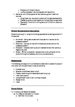 AP Calculus AB syllabus from an international school