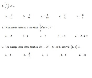 AP Calculus - AP Practice Basic Integration PowerPoint presentation