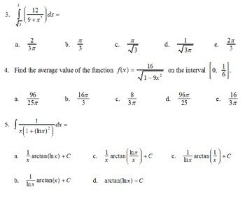 AP Calculus - AP Practice Inverse Trig PowerPoint presentation