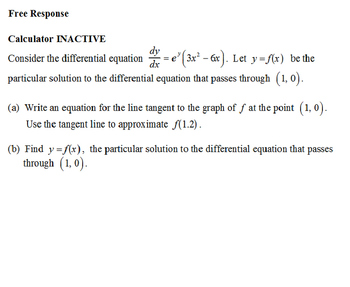 AP Calculus AP Practice Separation of Variables Differential Equations PPT
