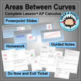 AP Calculus: Areas Between Curves Complete Lesson