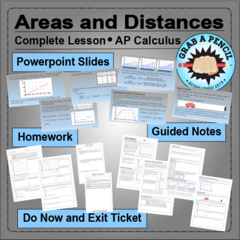 AP Calculus: Areas and Distances Complete Lesson
