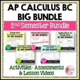 AP Calculus BC Big Bundle (2nd Semester)