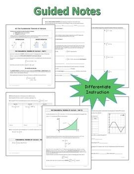 Calculus: Full Year Curriculum