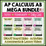 AP Calculus AB Curriculum Bundle
