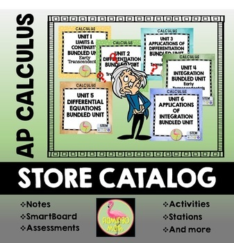 AP Calculus Curriculum Store Catalog