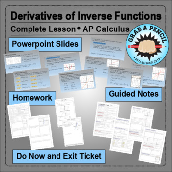 AP Calculus: Derivatives of Inverse Functions Complete Lesson