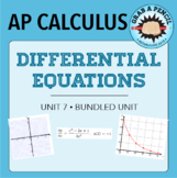 AP Calculus: Differential Equations Unit Bundle (AB content only)