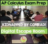 AP Calculus Exam Prep Digital Escape Room Distance Learning