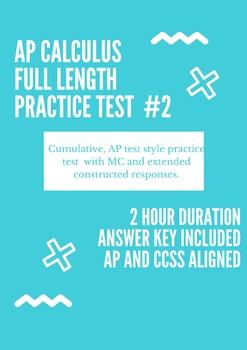 AP Calculus Exam Review
