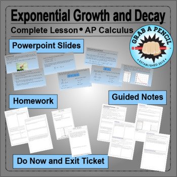 AP Calculus: Exponential Growth and Decay Complete Lesson
