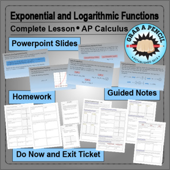 AP Calculus: Exponential and Logarithmic Functions Complete Lesson