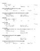 AP Calculus Fall Semester Exam Version 2