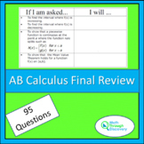 AB Calculus – Final Review