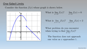 AP Calculus: Finding Limits Graphically Complete Lesson