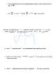 AP Calculus Free Response Packet