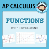AP Calculus: Functions Unit Bundle