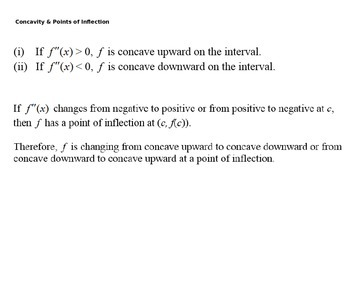 AP Calculus - Graphing Applications of Derivatives & Particle Motion PowerPoint