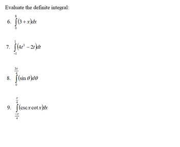 AP Calculus Integration Review Power Point presentation
