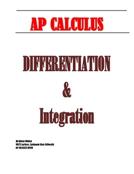 AP CALCULUS: INTRODUCTION TO DERIVATIVES & ANTIDERIVATIVES