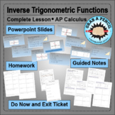 AP Calculus: Inverse Trigonometric Functions Complete Lesson