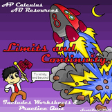 AP Calculus Limits and Continuity Resources