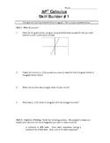 AP Calculus - Local Linearity