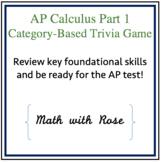 AP Calculus Part 1 Review Game