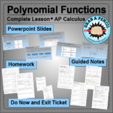 AP Calculus: Polynomial Functions Complete Lesson