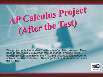 AP Calculus Project #1 (English Teacher versus Machine)