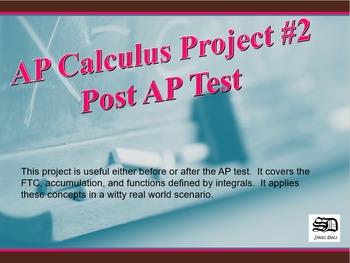 AP Calculus Project #2 (Tsunami)